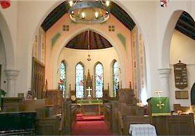Inside St John the Divine, Arva