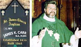 Rev James Carr