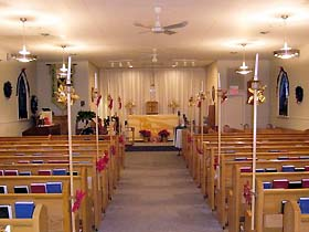 Inside St Alban the Martyr Church